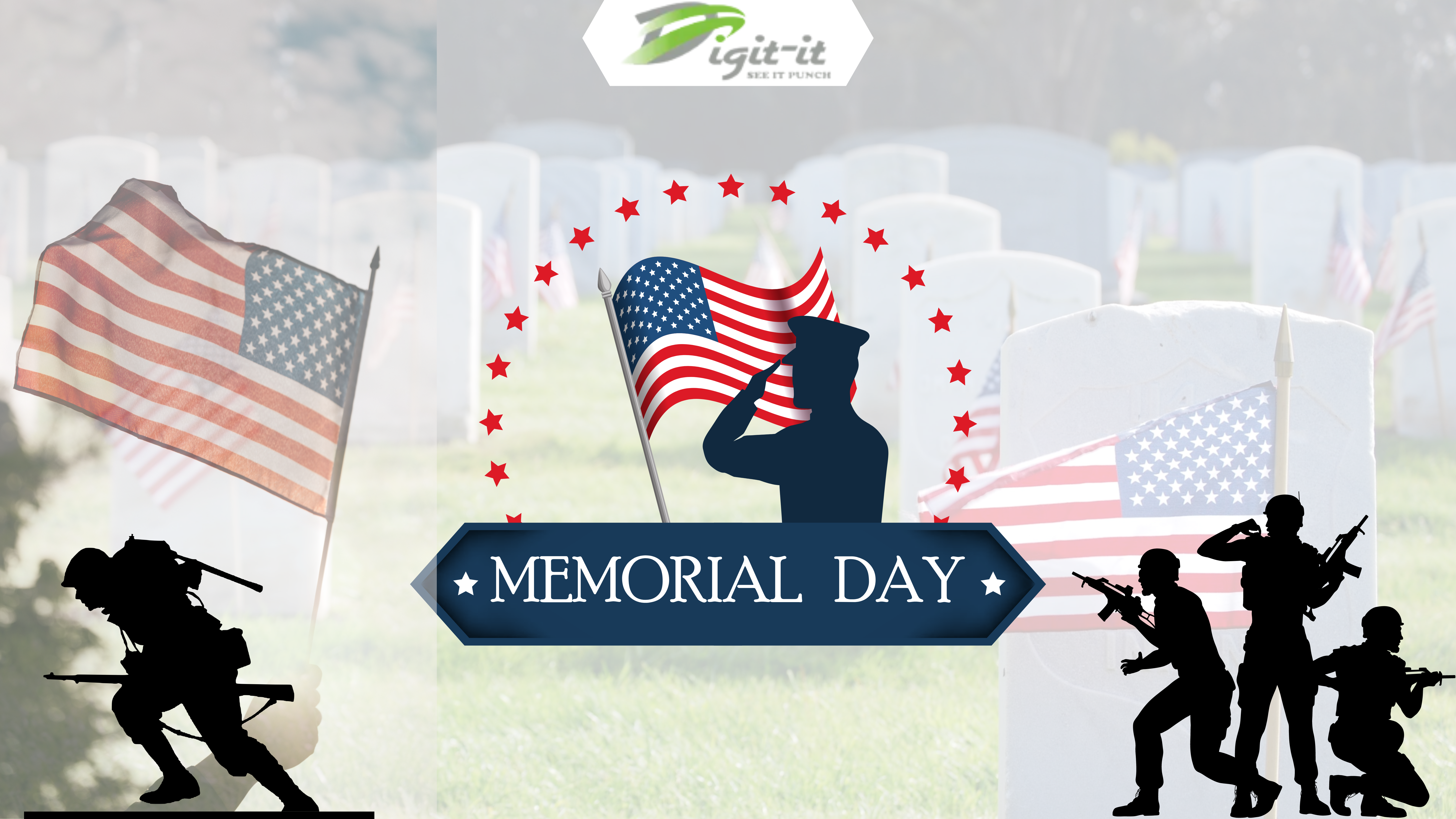 Embroidery Design For Memorial Day